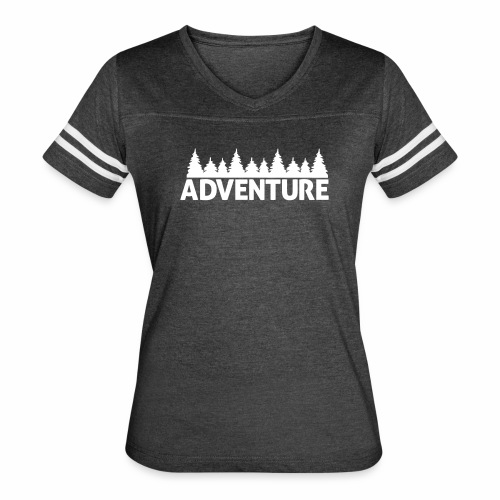Adventure - Women's Ringer 60/40 Shirt - Women's Vintage Sport T-Shirt