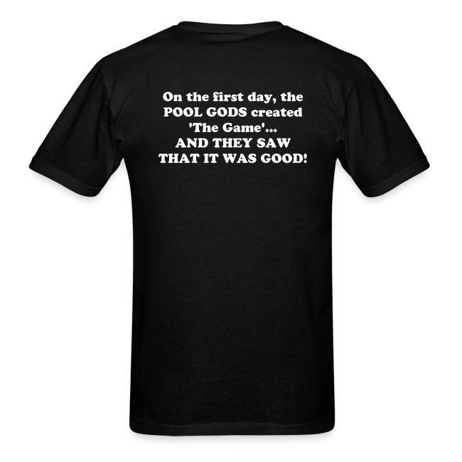 On the first day... T-shirt.