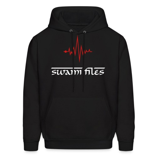 Exclusive Swami Files Hoodie, Black/Red - Men's Hoodie