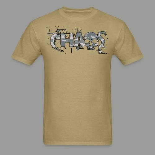 Army Digital Cammo Chaos - Men's T-Shirt