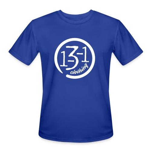 Sport Tek- 1-3-1 Blue/White - Men's Moisture Wicking Performance T-Shirt