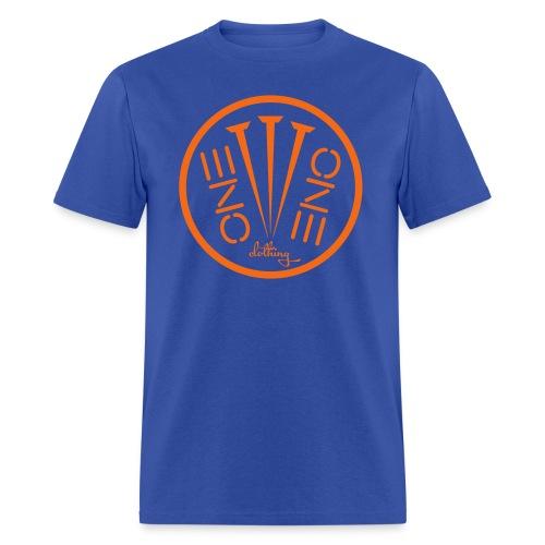 Fruit of the Loom- 3Nails Orange Font - Men's T-Shirt
