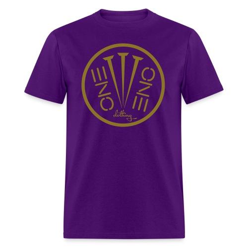 Fruit of the Loom- 3Nails Gold Font - Men's T-Shirt