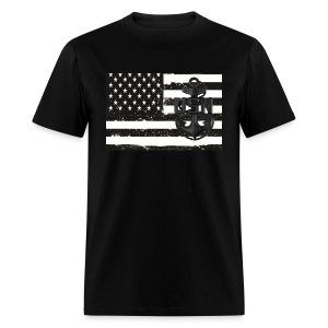 US Navy Chief Petty Officer CPO Flag Shirt - Men's T-Shirt