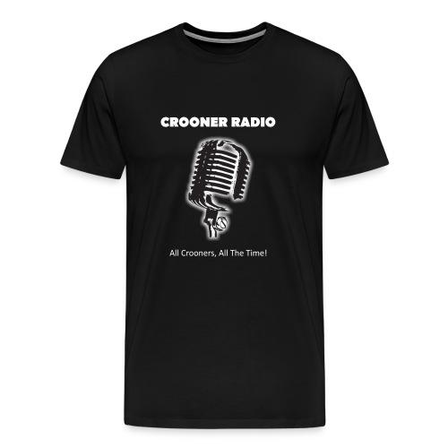 Crooner Radio T-shirt - Men's Premium T-Shirt