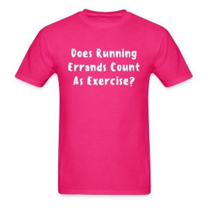 Running Errands T-shirt - Men's T-Shirt