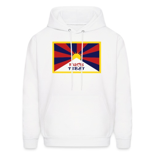 Fuck Tibet Hoodie - Men's Hoodie