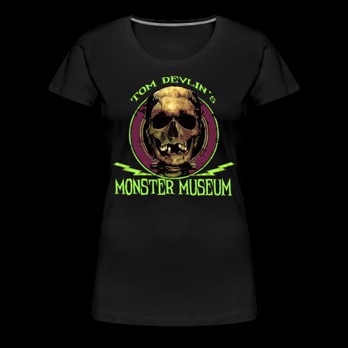 Women's Skull Logo Tee - Women's Premium T-Shirt