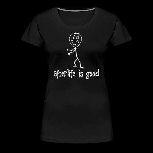 Afterlife Women's Zeek Tee - Women's Premium T-Shirt