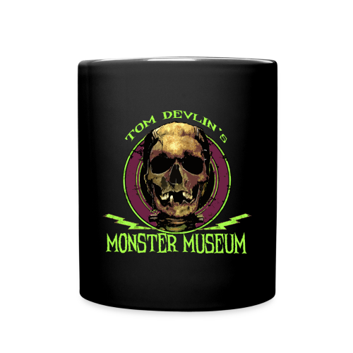 Monster Museum Skull Logo Mug - Full Color Mug