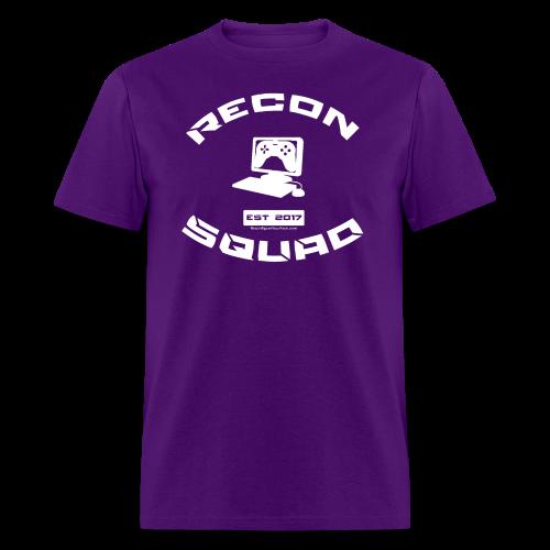 Recon Men's White Text - Men's T-Shirt