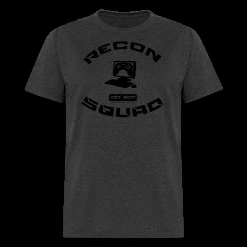 Recon Men's Black Text - Men's T-Shirt