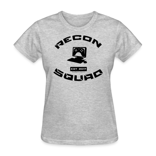 Recon Women's Black Text - Women's T-Shirt