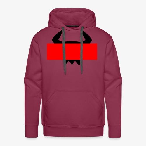 Skull Block Hoodie - Men's Premium Hoodie