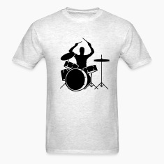 A drummer and drums T-Shirts