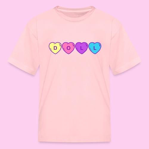 Doll Heart Tee (Kids) - Kids' T-Shirt