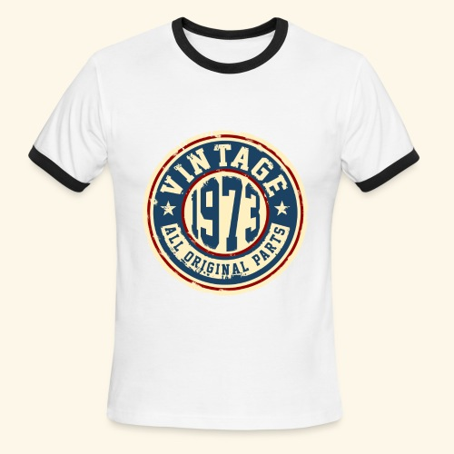 Vintage 1973 Men's Tee - Men's Ringer T-Shirt