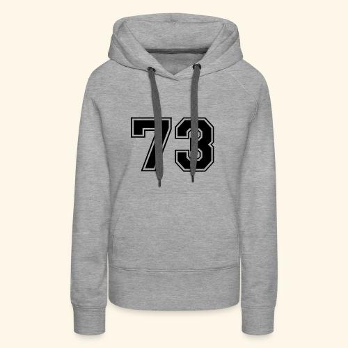 '73 - Women's Premium Hoodie