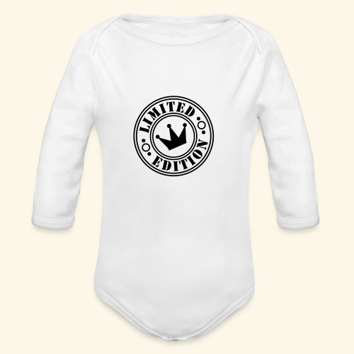 Limited Edition - Organic Long Sleeve Baby Bodysuit