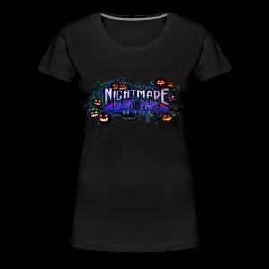 Nightmare Haunt Park Carved Commemorative Tee Women's - Women's Premium T-Shirt