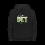 Sweatshirts ~ Kids' Hoodie ~ Detroit Skyline Map