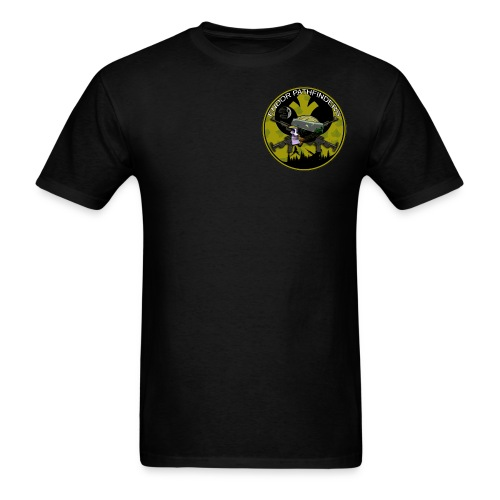 Forest Moon Pathfinders Unit crest GB in black tee - Men's T-Shirt