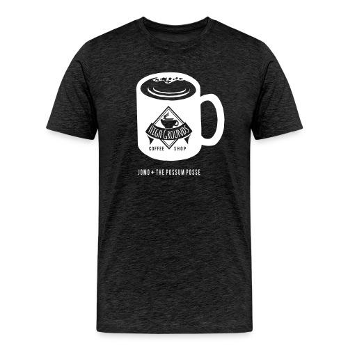 High Grounds Coffee Shop - Men's Premium T-Shirt