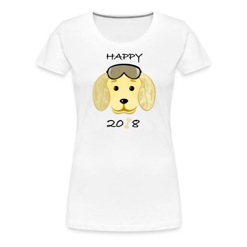 Happy dog 3 - Women's Premium T-Shirt