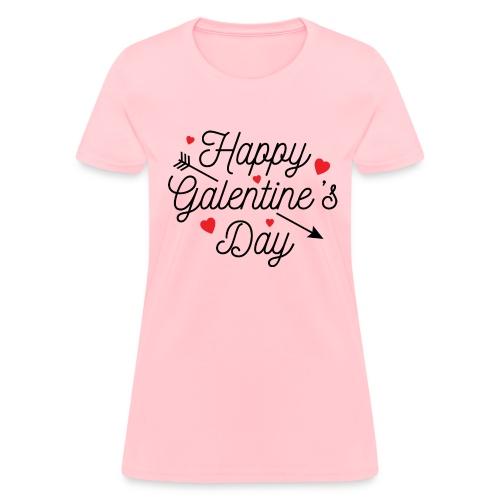 Happy Galentine's Day Womens TShirt - Women's T-Shirt