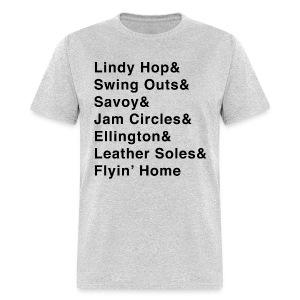 Lindy Hop & Shirt - Men's T-Shirt