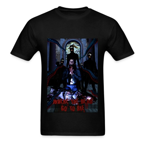Where The Dead Go To Die Original Poster Standard Weight - Men's T-Shirt