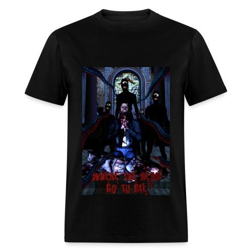 Where The Dead Go To Die Original Poster Standard Weight - Men's T-Shirt
