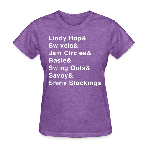 Lindy Hop & Shirt - Women's T-Shirt