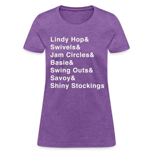 Lindy Hop & Shirt - Women's T-Shirt