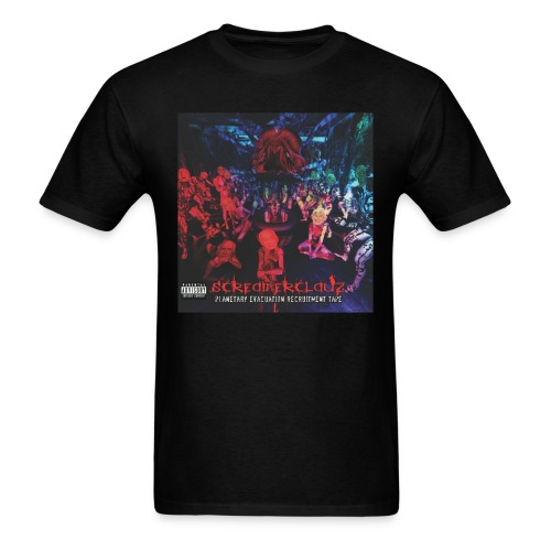 Planetary Evacuation Recruitment Tape Standard Shirt - Men's T-Shirt