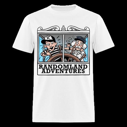 Justin & Twain T-shirt (Unisex) - Men's T-Shirt