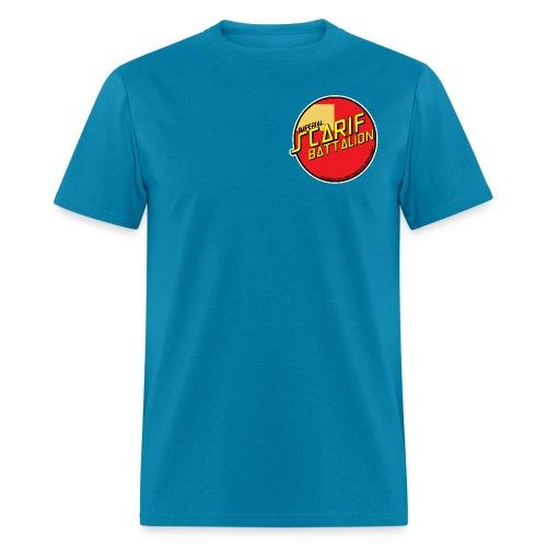 ISB men's skater tee in tourquoise - Men's T-Shirt