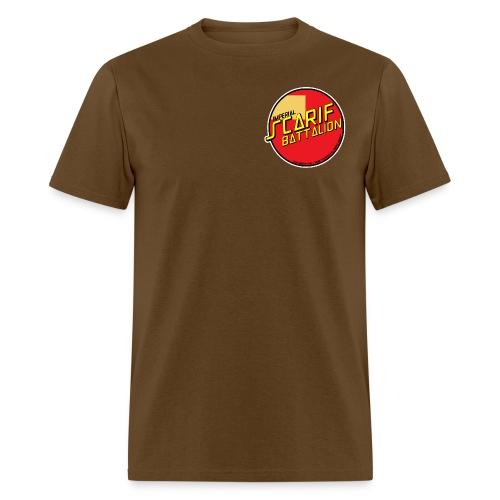 ISB men's skater tee in brown - Men's T-Shirt