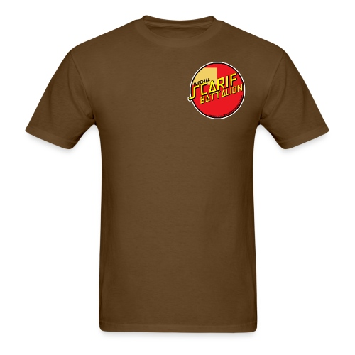 ISB men's skater tee in brown - Men's T-Shirt