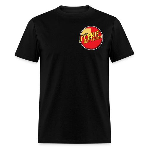 ISB men's skater tee in black - Men's T-Shirt