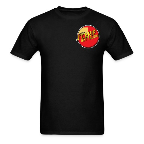 ISB men's skater tee in black - Men's T-Shirt