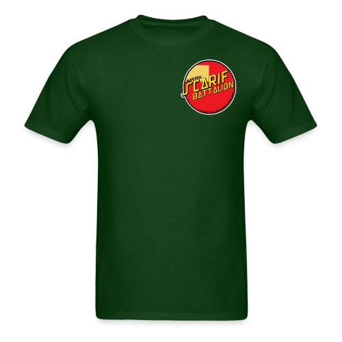ISB men's skater tee in green - Men's T-Shirt
