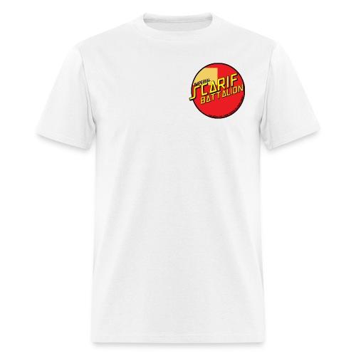 ISB men's skater tee in white - Men's T-Shirt