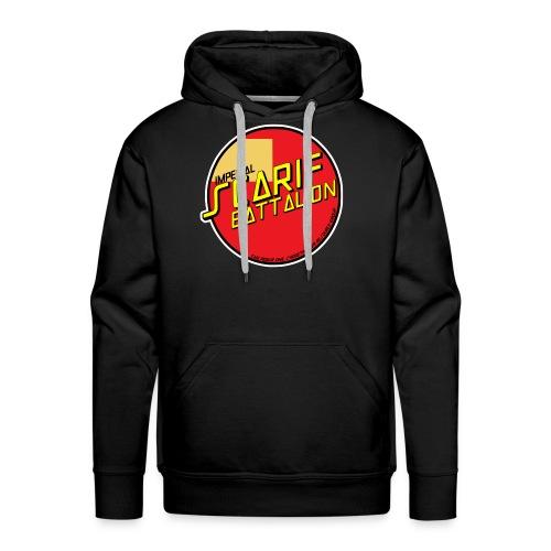 ISB skater hoodie in black - Men's Premium Hoodie