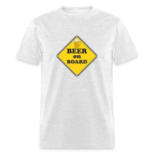 Beer on Board - Men's T-Shirt