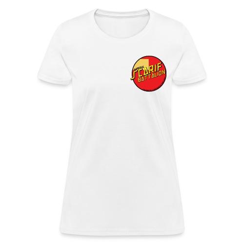 ISB women's skater tee in white - Women's T-Shirt