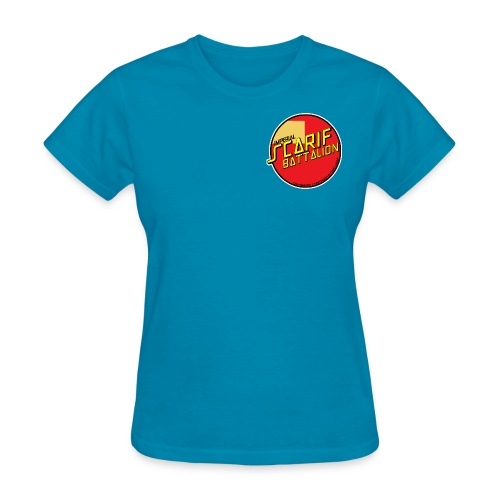 ISB women's skater tee in turquoise - Women's T-Shirt