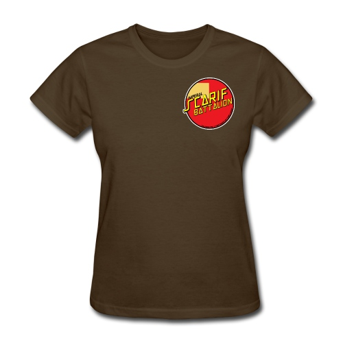 ISB women's skater tee in brown - Women's T-Shirt