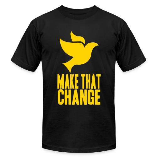 'Make That Change' T-Shirt - Men's Fine Jersey T-Shirt