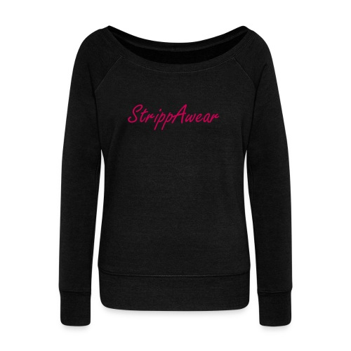 strippawear fashion top - Women's Wideneck Sweatshirt